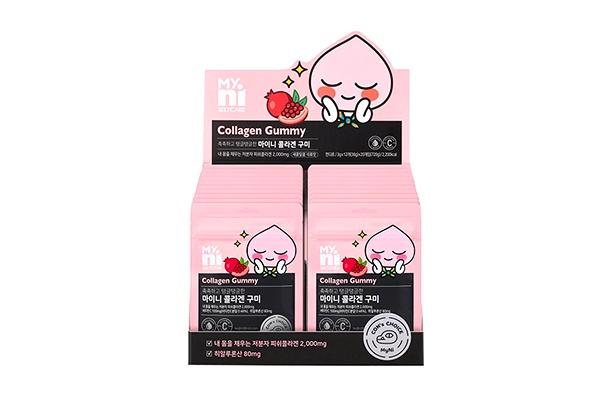 Kẹo Dẻo MyNi Selfcare Collagen Gummy Kakao Friend EX của Hàn