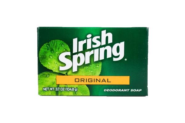 Xà bông cục diệt khuẩn Irish Spring Deodorant Soap Original 106g của Mỹ