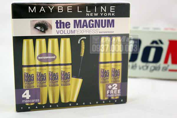 Mascara Volum Express Magnum Maybelline làm dày mi 10 lần từ Mỹ
