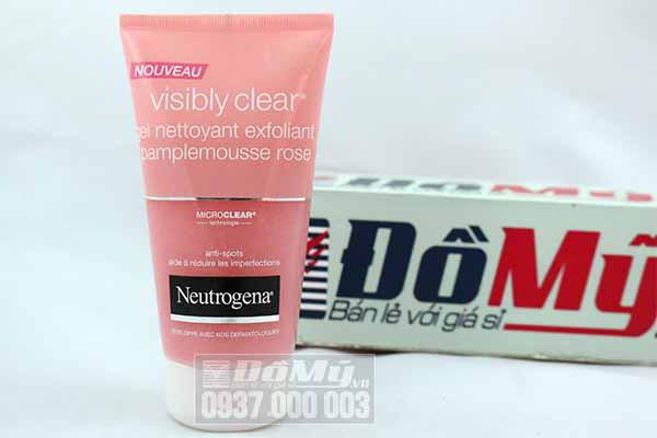 Sữa Rửa Mặt Dưỡng Da  Neutrogena Visibly Clear 150ml từ Mỹ