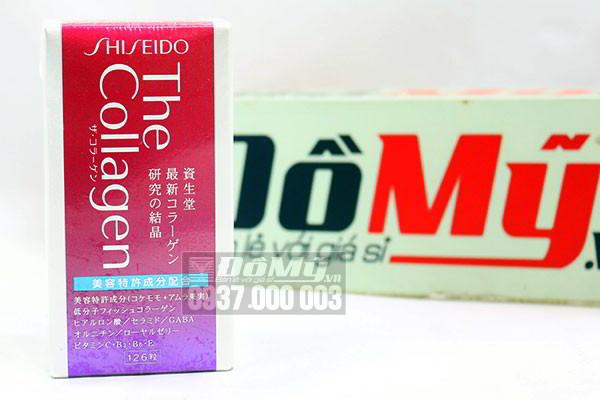 Viên uống chống lão hóa da The Collagen Shiseido 126 viên của Nhật Bản
