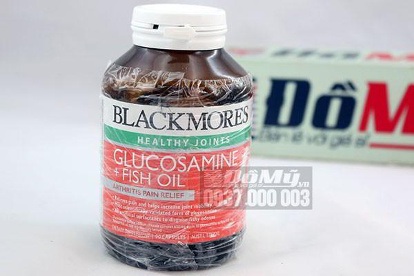 Viên bổ khớp dầu cá Blackmores Glucosamine Fish Oil 90 viên của Úc