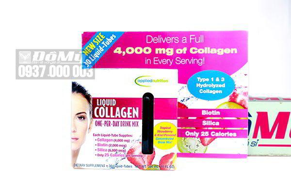 Nước uống đẹp da Liquid Collagen Skin 30 tuýp của Mỹ