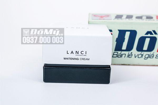 Kem dưỡng trắng da Lanci Whitening Cream 50ml của Hàn Quốc