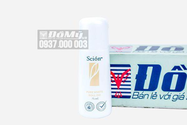 Lăn khử mùi Scion Pure White Roll On 75ml