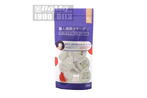 Viên kén tằm collagen 10 viên của Nhật