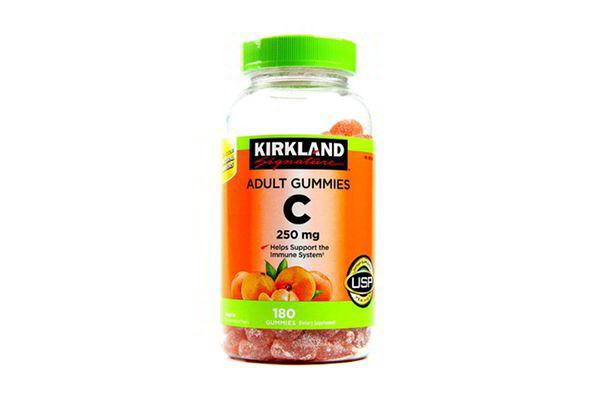 Kẹo C 250mg Adults Gummies Kirkland 180 viên