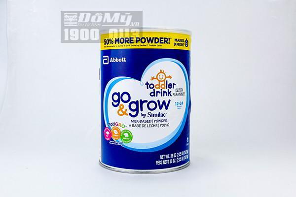 Sữa bột Similac Go & Grow Toolder Drink dành cho bé 12 - 24 tháng tuổi của Mỹ 1.02kg