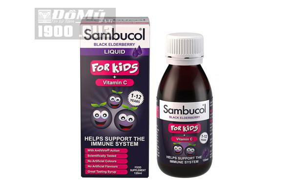 Siro tăng cường sức đề kháng Sambucol (120ml) (từ 1 tuổi)