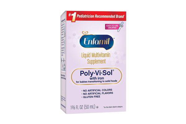 Vitamin Enfamil Poly Vi Sol 50ml bổ sung vitamin và khoáng chất nhập từ  Mỹ