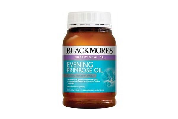 Tinh dầu hoa anh thảo Blackmores Evening Primrose oil 190 viên của Úc