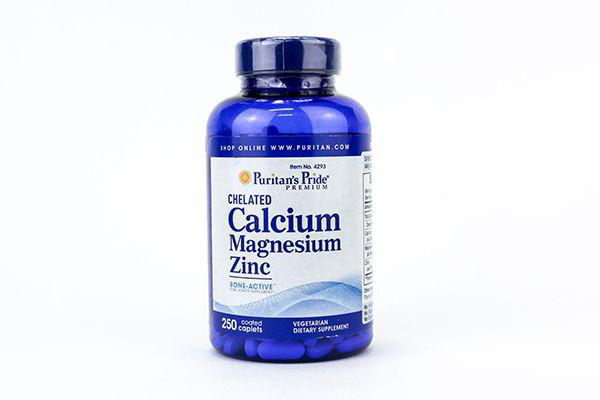 Viên Calcium Magnesium Vitamin D3 Puritan's Pride 250 Viên của Mỹ