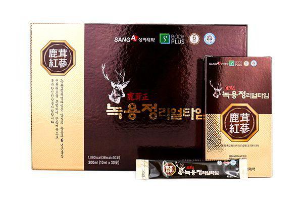 Nước Lộc Nhung Hươu Sanga Hàn Quốc 30 Gói x 10ml