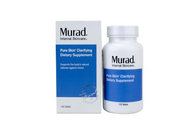 VIÊN UỐNG TRỊ MỤN MURAD PURE SKIN® CLARIFYING DIETARY SUPPLEMENT HỘP 120 VIÊN CỦA MỸ