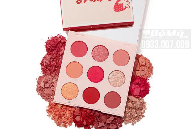 Bảng Phấn Mắt 9 Ô Colourpop Strawberry Shake Pressed Powder Shadow Palette