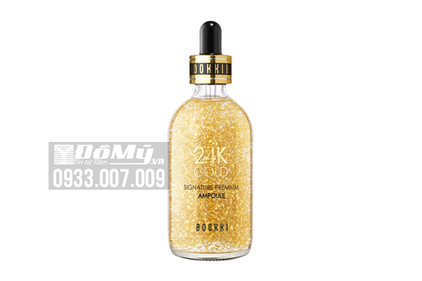 Serum vàng BOOKKI 24K GOLD SIGNATURE PREMIUM AMPOULE