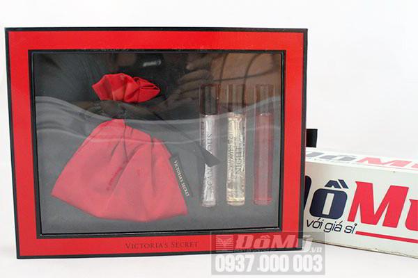 Bộ Gift set 3 chai nước hoa mini nữ Victoria Secret của Mỹ
