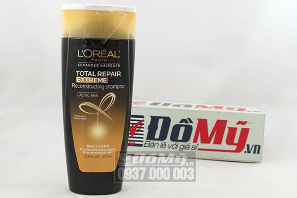 Dầu gội dành cho tóc hư tổn của Mỹ Loreal Paris Total Repair Extreme loại 750ml