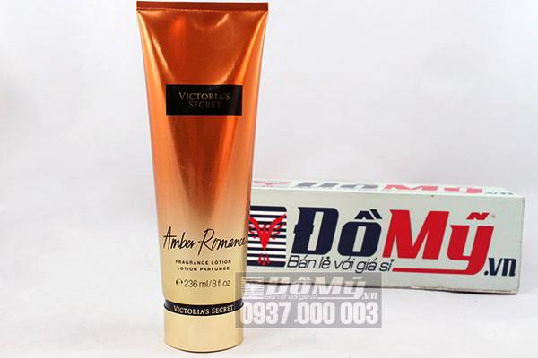 Dưỡng thể hương nước hoa Victoria's Secret Amber Romance Frangrance Lotion  236 ml của Mỹ