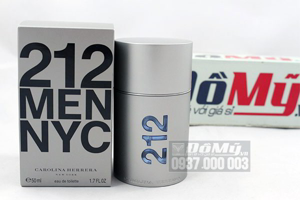 Nước hoa nam 212 Men NYC Carolina Herrera 50ml của Mỹ