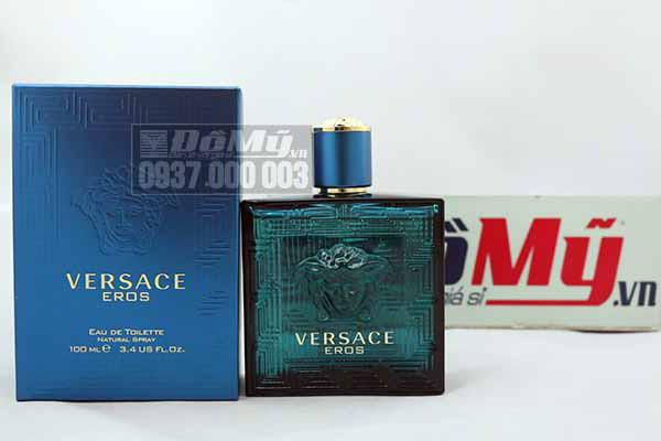 Nước hoa nam chính hãng Versace Eros for men 100ml của Ý