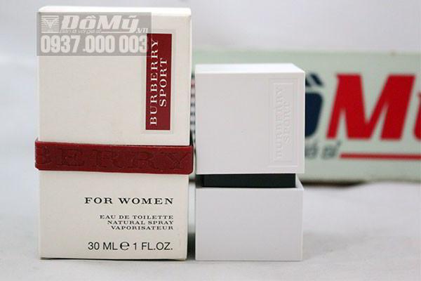 Nước hoa nữ chính hãng Burberry Sport for Women 30 ml của Ý