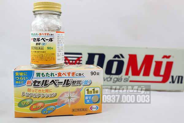 Viên uống đau dạ dày của Nhật Sebuberu Eisai 90 viên