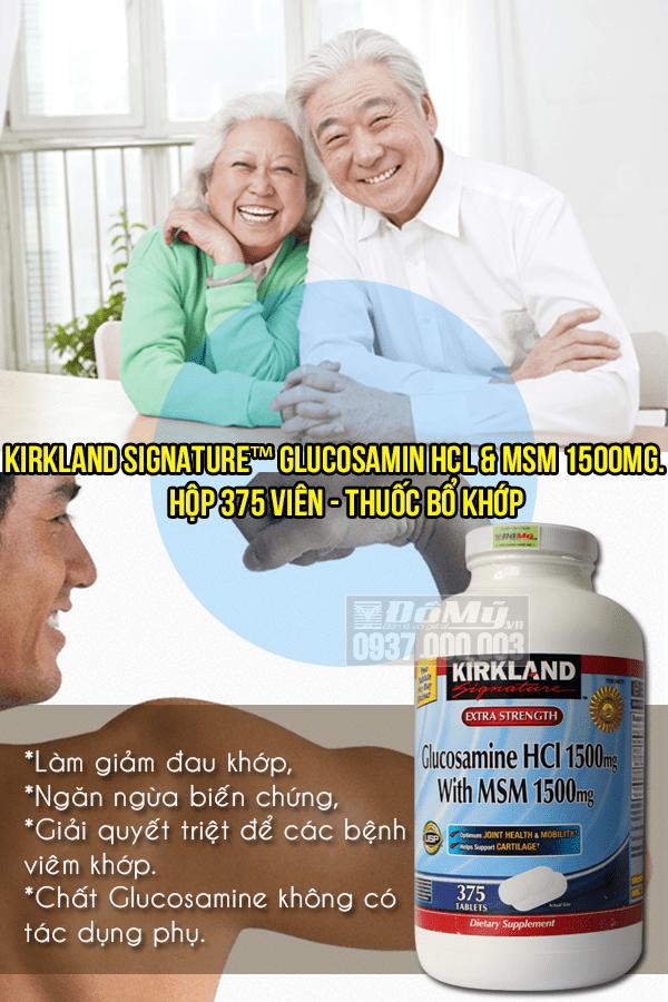 Glucosamine Kirkland 375 viên