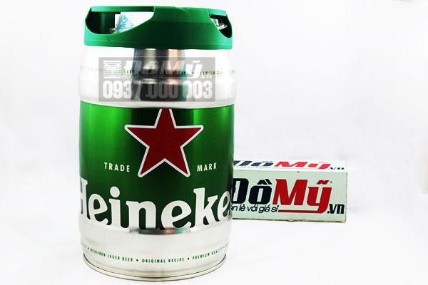 Bia Heineken nhập khẩu từ Hà Lan 5 lít