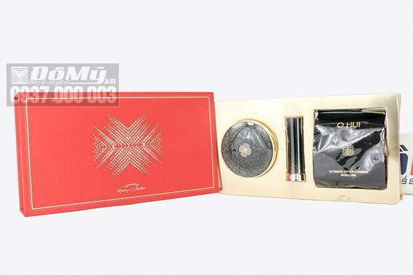 Set trang điểm Ohui Ultimate Cover Cushion Moisture 3 sản phẩm