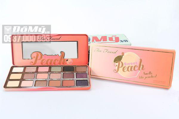 Bảng phấn mắt Too Faced Sweet Peach Eyeshadow Palette hộp 18 màu