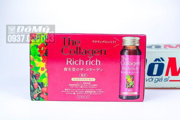 The Collagen Shiseido Rich Rich dạng nước uống của Nhật Bản