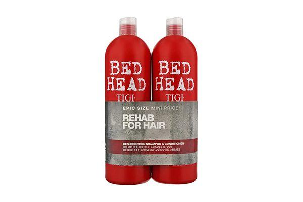 Bộ gội + xả Tigi Bed Head màu đỏ cấp độ 3 750ml