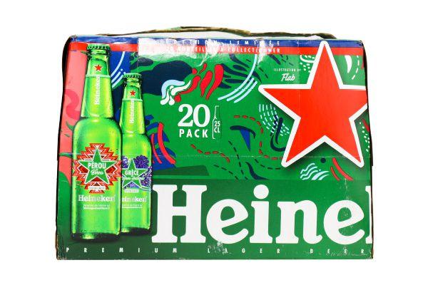Bia Heineken 250ml /20 chai Pháp