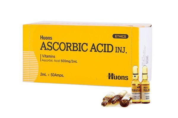 Tế bào gốc Huons Ascorbic Axit Vitamin C Inj. Ampoules