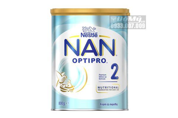Sữa Bột Nestlé NAN OPTIPRO 2 Powder – 800g của Úc