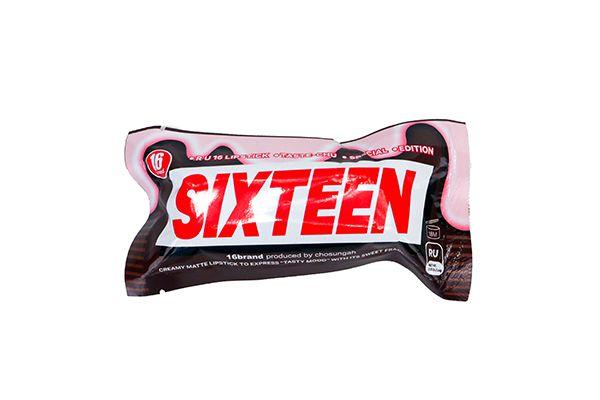 Son Thỏi Lì Ống Bơ 16 Brand Taste Chu Edition