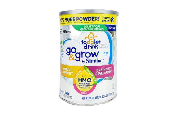 Sữa bột Similac Go & Grow NON-GMO Milk-Based Toddler Drink Powder With 2'-FL HMO 1.02kg