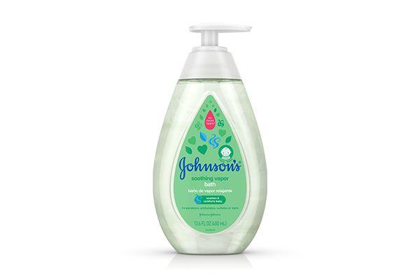 Sữa tắm cho bé cảm cúm Johnson's Baby Soothing Vapor Bath Wash 400ml