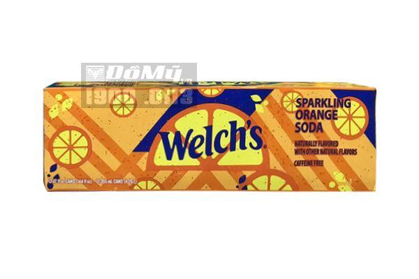 Nước ngọt soda Welch's Cam - Mỹ