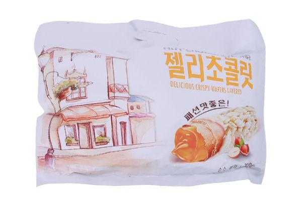 Bánh Yến Mạch Cuộn Socola và Hạt Dẻ