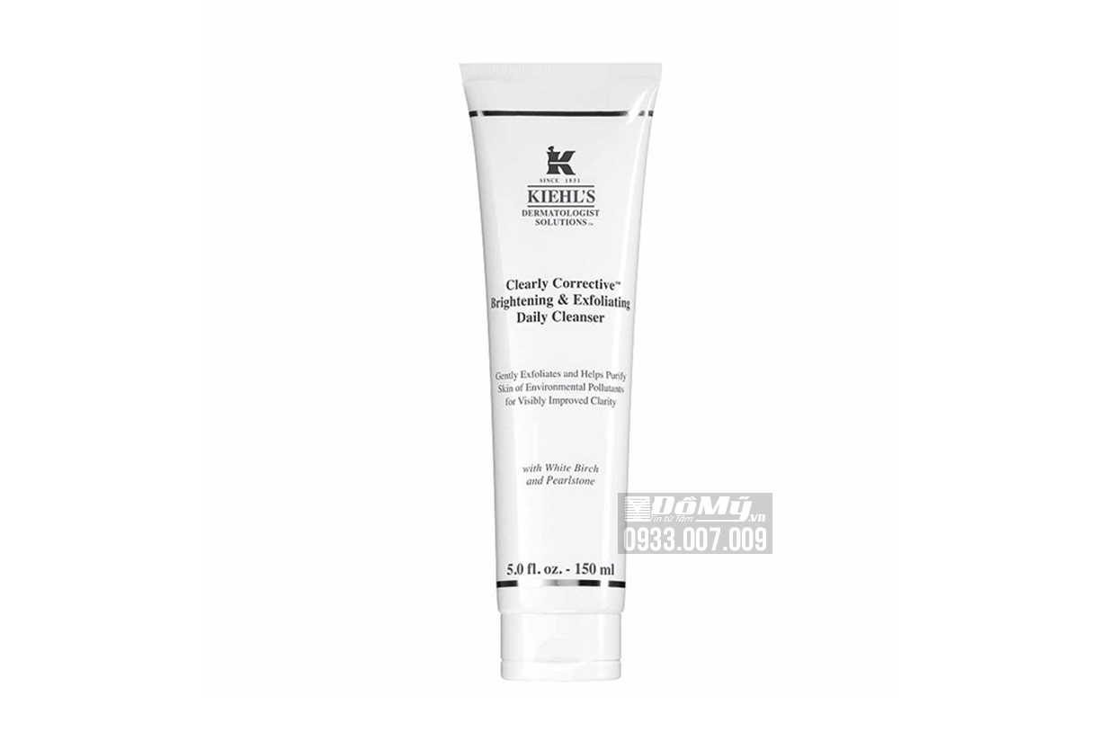 Sữa rửa mặt KIEHL'S Clearly Corrective Brightening & Exfoliating Daily Cleanser 150ml - Mỹ