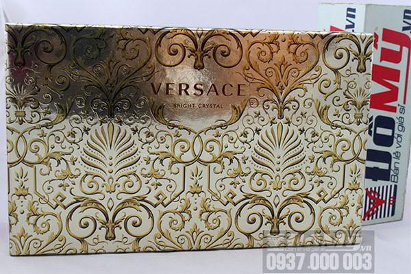Bộ sản phẩm Versace Bright Crystal Giftset của Ý