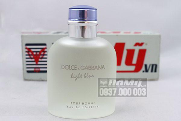 Nước hoa nam Dolce & Gabbana Light Blue pour Homme 125ml của Ý