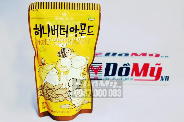 Bánh hạnh nhân tẩm bơ mật ong 250g của Hàn Quốc
