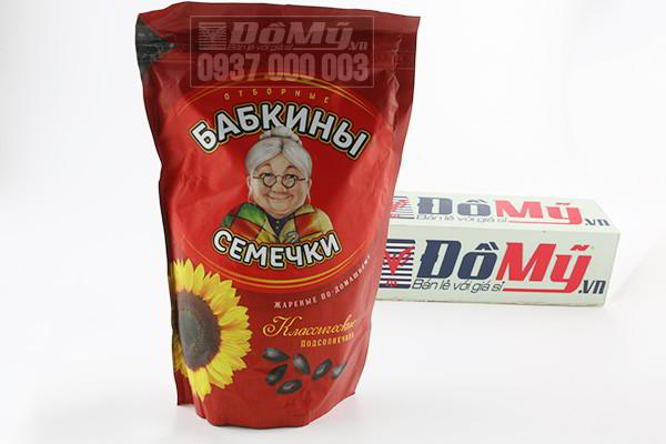 Hạt hướng dương Babkiny Semechki 300gram của Nga