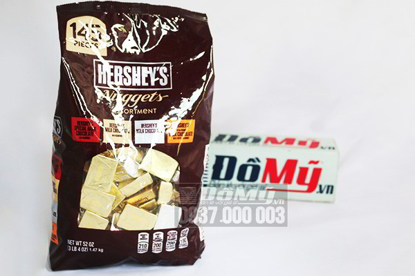 Kẹo Chocolate Hershey's Nuggets 1,47Kg Của Mỹ