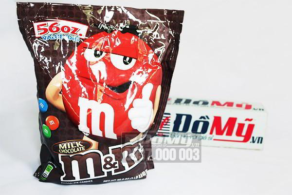 Kẹo Milk Chocolate M&M 1587.6g của Mỹ