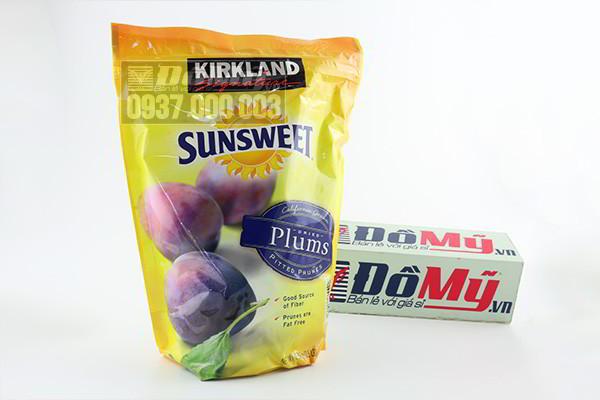 Quả Mận Sấy Khô Kirkland Sunsweet của Mỹ loại 1.59kg