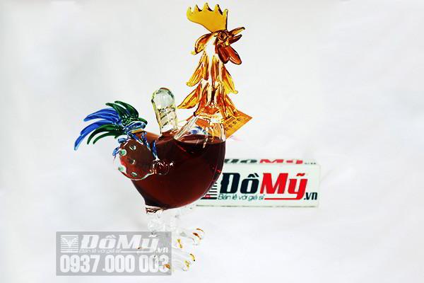 Rượu Con Gà Trống Cognac chai 500ml  của Nga